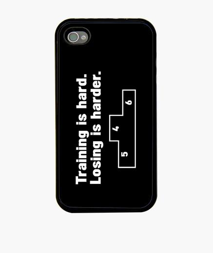 Funda iPhone el entrenamiento es duro