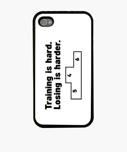 Funda iPhone el entrenamiento es duro -...