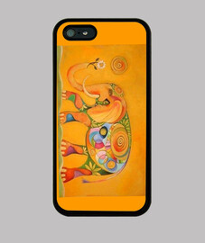 Funda Iphone Elefante Multicolor