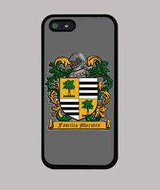 Funda Iphone Escudo Familia Morales