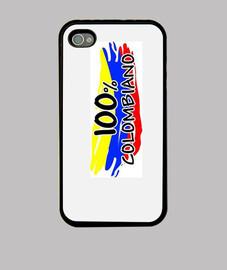 Funda iPhone Estampado COLOMBIANO 100