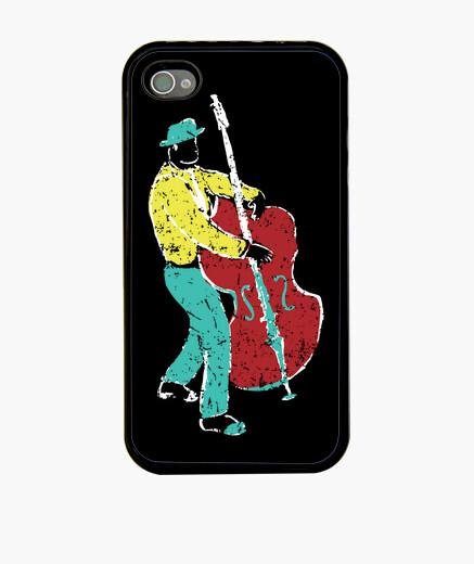 Funda iPhone estilo de pintura de músico...