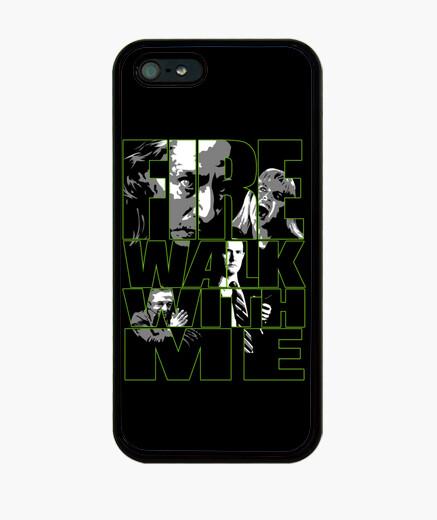 Funda iPhone Fire Walk with me - Twin Peaks