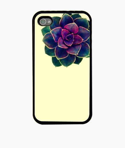 Funda iPhone Flor amarillo