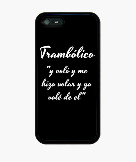 Funda iPhone Funda tramboliko iPhone 5 / 5s, negra