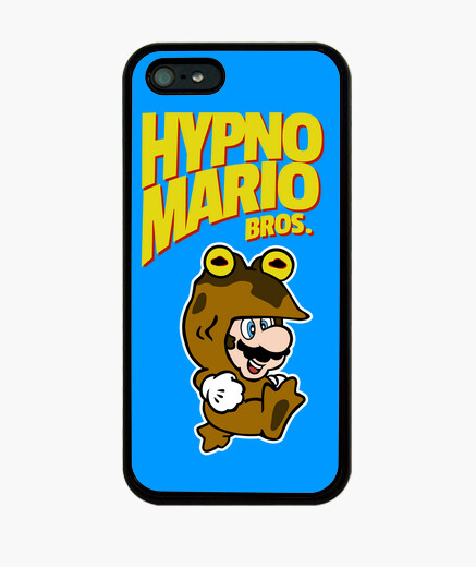 Funda iPhone HypnoMario Bros Yellow Text