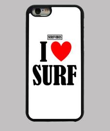Funda Iphone I Love Surf