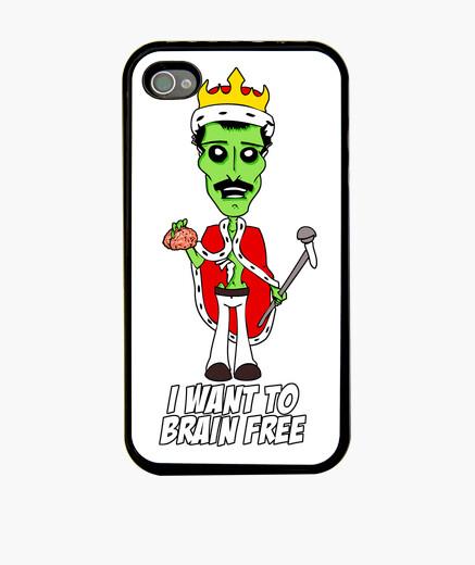 Funda iPhone I want to brain free