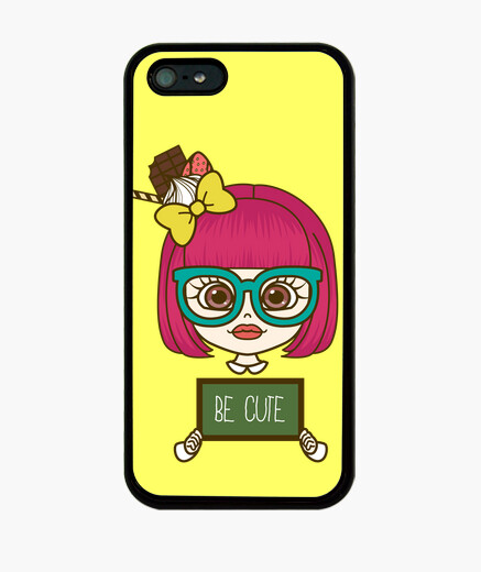Funda iPhone Kawaii girl iPhone5