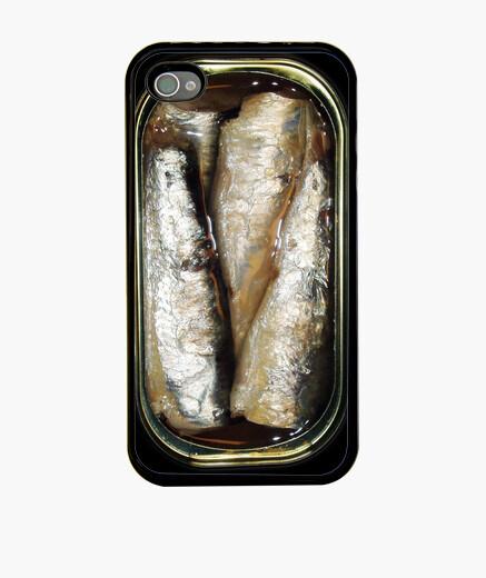 Funda iPhone Lata de sardinas iphone 4