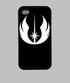 Funda Iphone Logo Jedi blanco