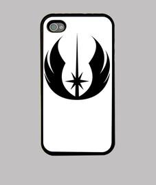 Funda Iphone Logo Jedi negro