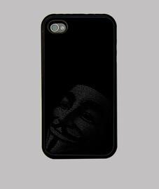 Funda Iphone Mascara Anonymous