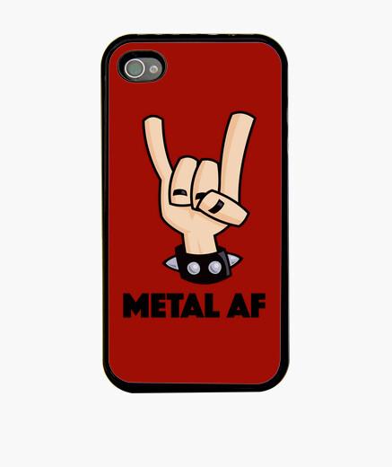 Funda iPhone metal af diablos cuernos