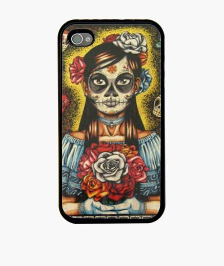 Funda iPhone Mexican skeleton girl