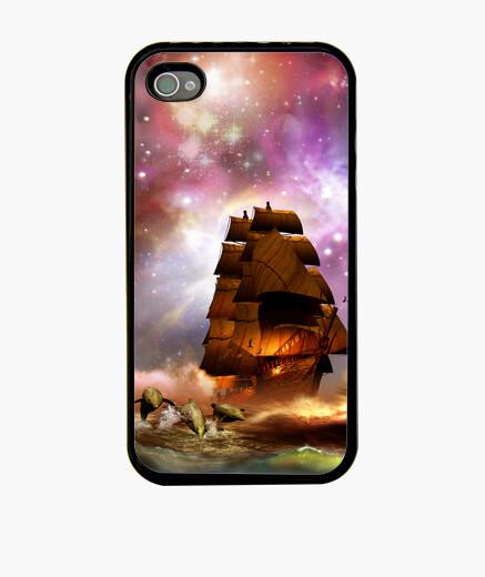 Funda iPhone Navegando bajo el universo