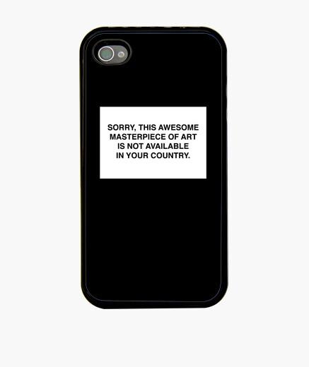 Funda iPhone no disponible en tu país