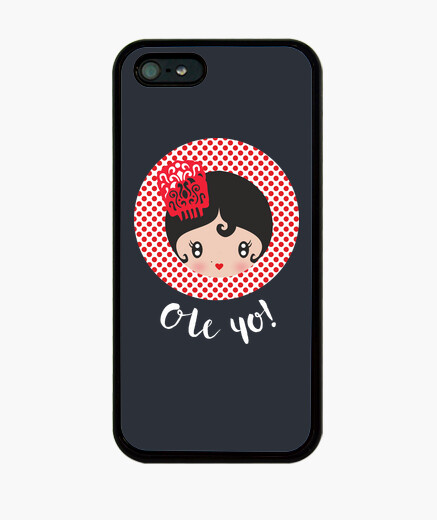 Funda iPhone ole yo black