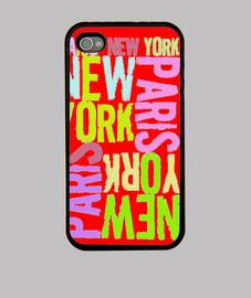 funda iphone paris new york