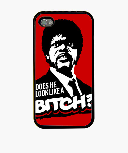 Funda iPhone Pulp Fiction: Does He Look...