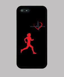 Funda iPhone Runner Woman