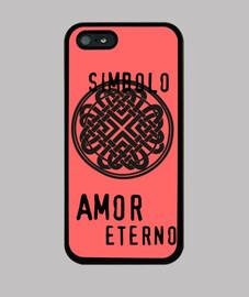 Funda Iphone Símbolo Amor Eterno