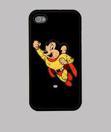 Funda Iphone Super Ratón envejecida
