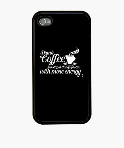 Funda iPhone tomar cafe