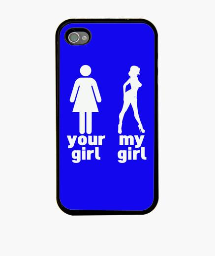 Funda iPhone tu chica vs mi chica