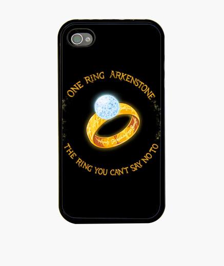 Funda iPhone un anillo arkenstone phonecase
