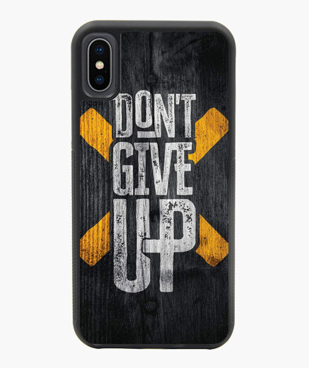 Funda iPhone X / XS Dont Give Up