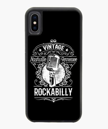 Funda iPhone X / XS Funda Rockabilly Music...