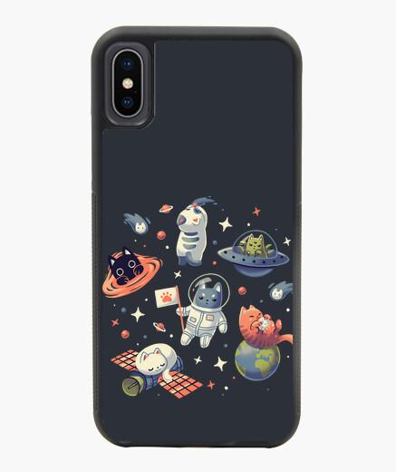 Funda iPhone X / XS Gatos en el Espacio