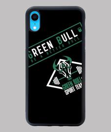 Funda iPhone XR Green Bull Sport