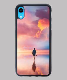 Funda iPhone XR hombre playa