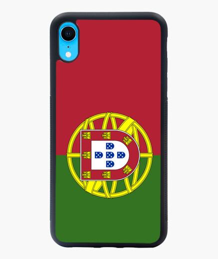 Funda iPhone XR Portugal flag phone case