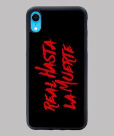Funda iPhone XR Real hasta la muerte