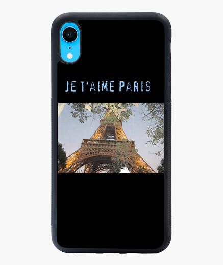 Funda iPhone XR XR Torre Eiffel