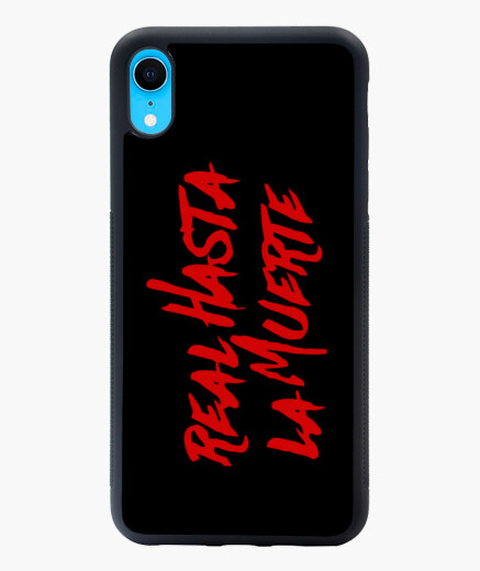 Funda iPhone XR XR Real hasta la muerte