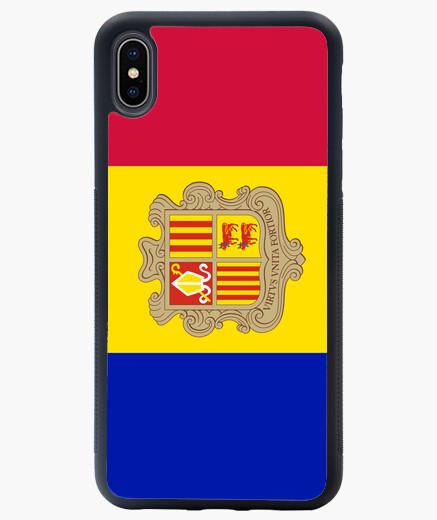 Funda iPhone XS Max Andorra flag phone case