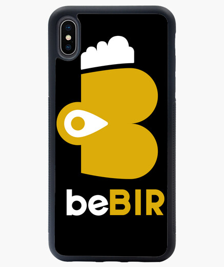 Funda iPhone XS Max beBIR Logo BIG