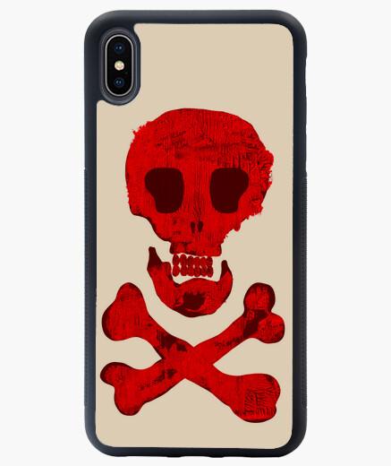 Funda iPhone XS Max Calavera pirata