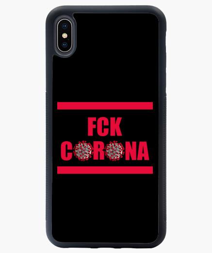Funda iPhone XS Max FCK CORONA