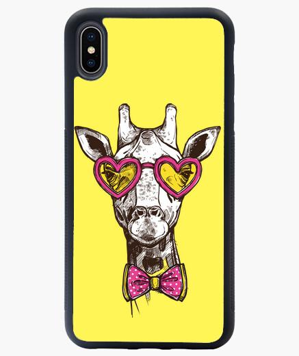 Funda iPhone XS Max jirafa hipster