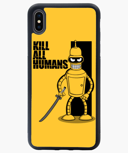 Funda iPhone XS Max Kill All Humans