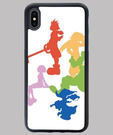Funda iPhone XS MAX Kingdom Hearts