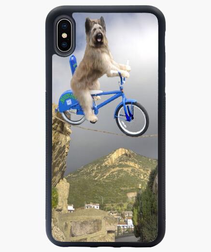 Funda iPhone XS Max Perro equilibrista