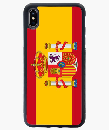 Funda iPhone XS Max Spain flag 1 phone case