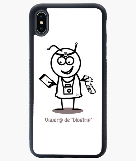 Funda iPhone XS Max Viajero de blogtrip