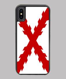 Funda iPhone X/XS BORGOÑA